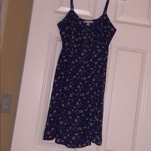 American Eagle Blue floral dress